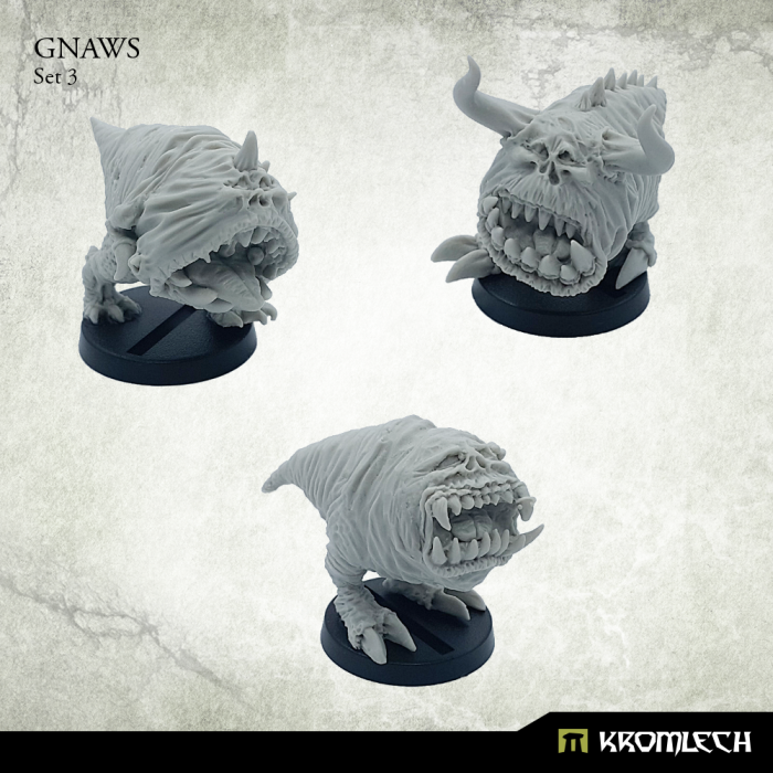 New Release ! Gnaws Set 3