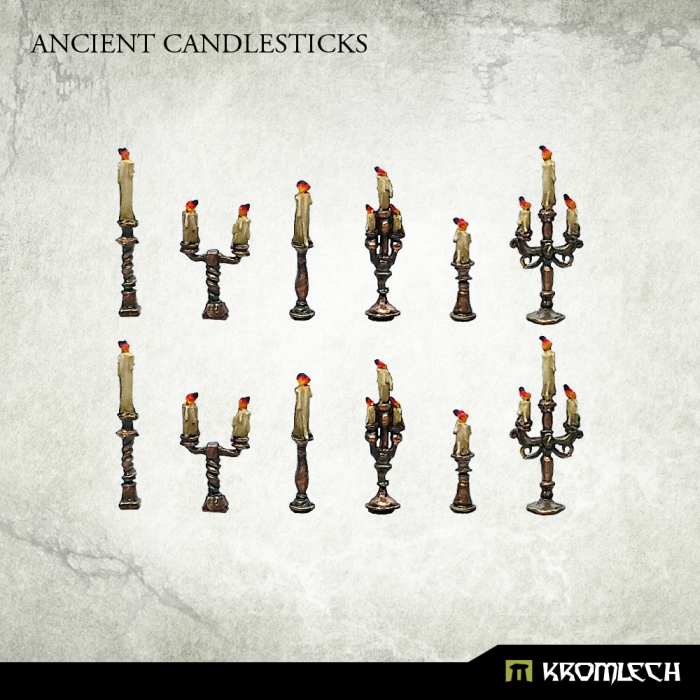 New Release ! Ancient Candlesticks