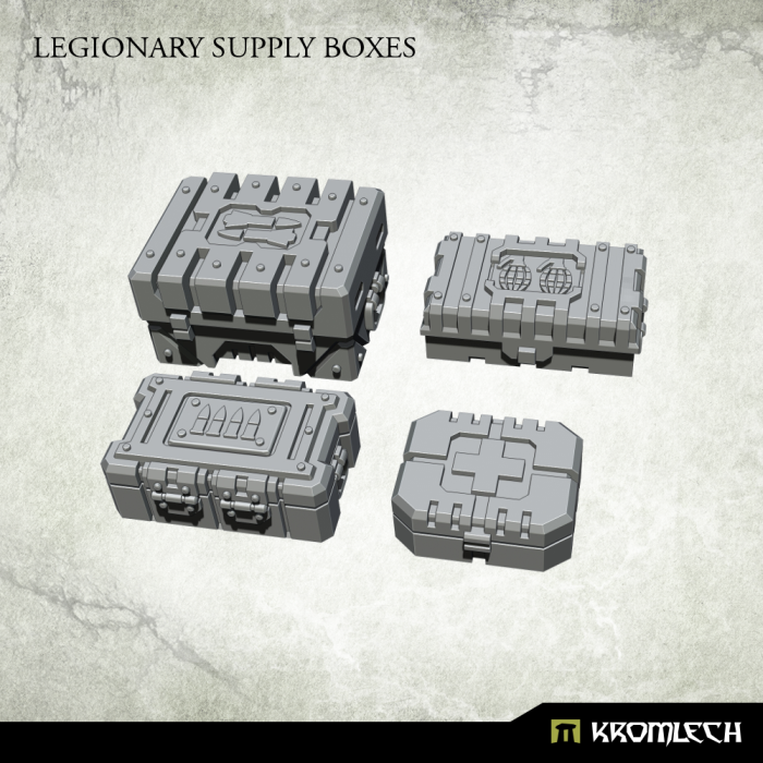 New Release ! Legionary Supply Boxes