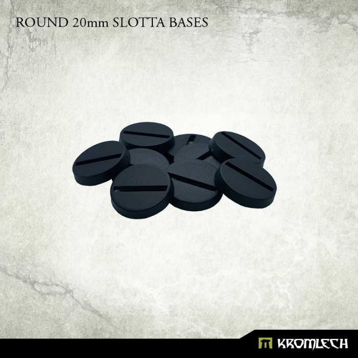 New Release ! Round 20mm Slotta Bases