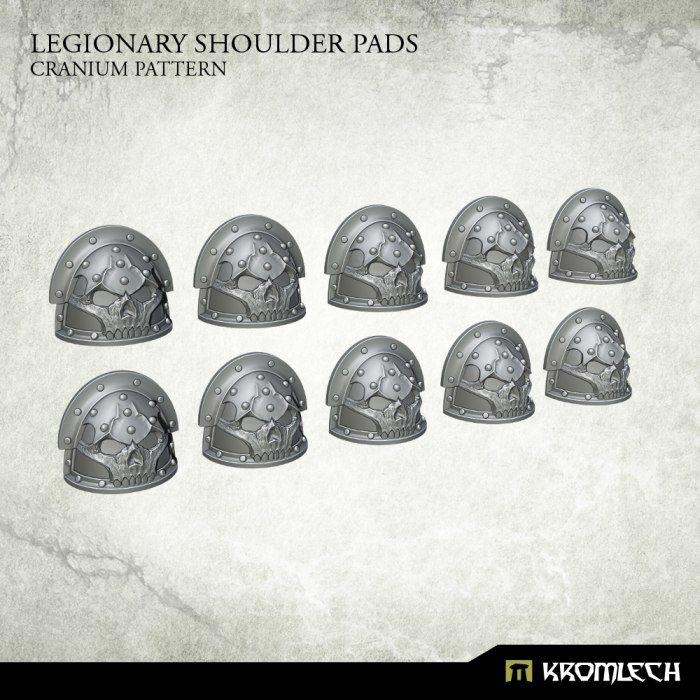 New Release ! Legionary Shoulder Pads: Cranium Pattern