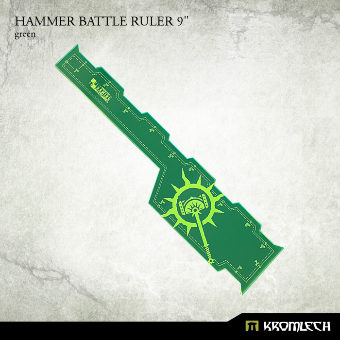 New Release ! Hammer Battle Rulers 9""
