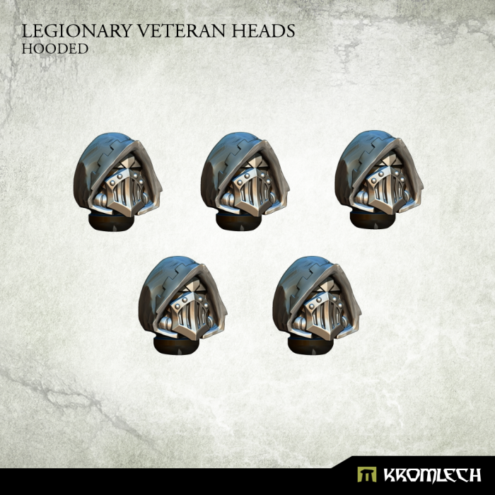 New Release ! Legionary Heads: Hooded