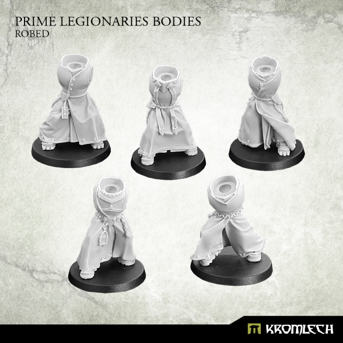 New Release ! Prime Legionaries Bodies: Robed