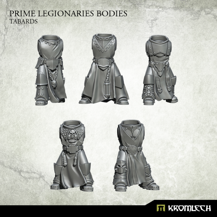 New Release ! Prime Legionaries Bodies: Tabards