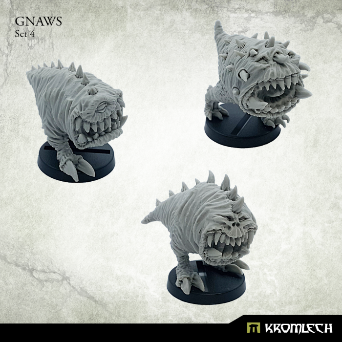 New Release ! Gnaws Set 4