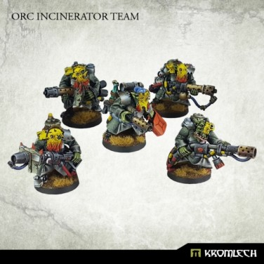New Review ! Orc Incinerator Team
