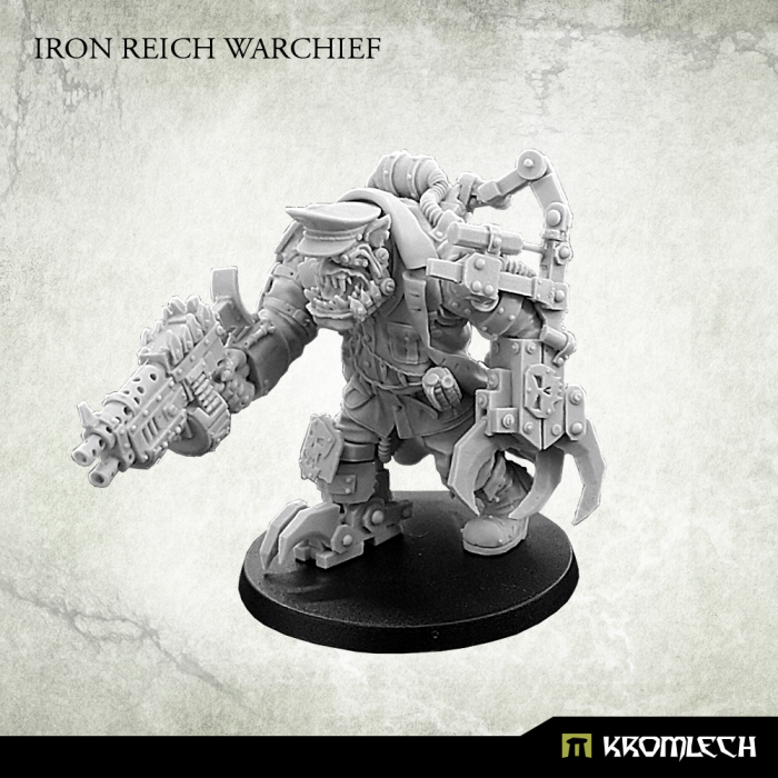 New Release ! Iron Reich Warchief