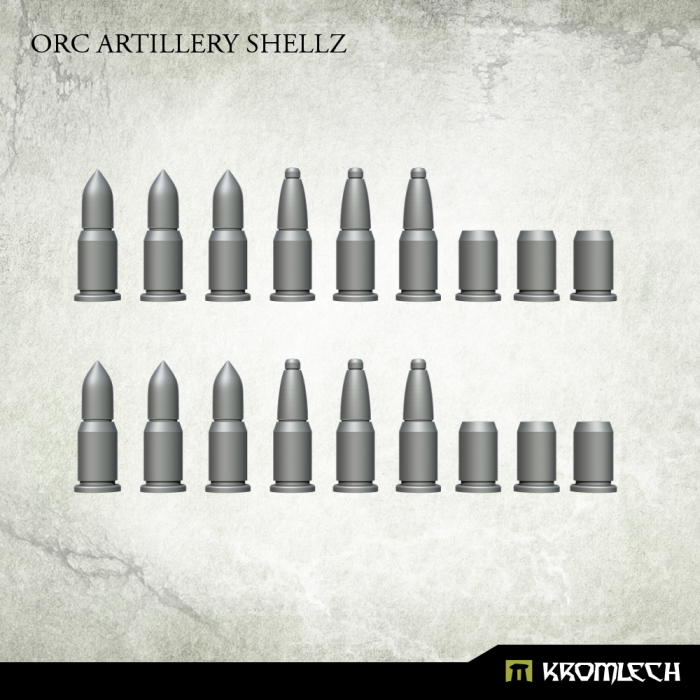 New Release ! Orc Artillery Shellz