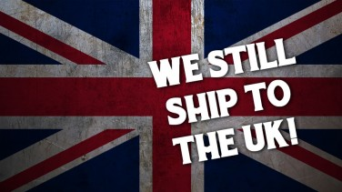 We still ship to the UK!