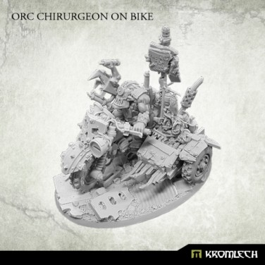 New Review ! Orc Chirurgeon on bike